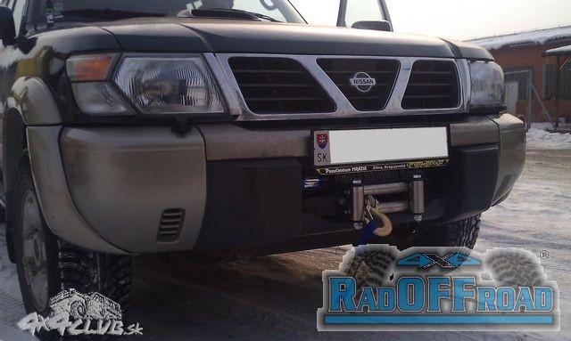 Nissan Patrol GR Y61 s navijákom Superwinch Talon