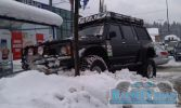 Snow city parking
